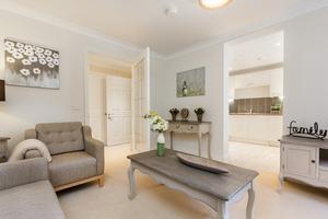 Internal of white living room