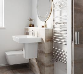 Example interior of a bathroom at the Bullwood Gardens development
