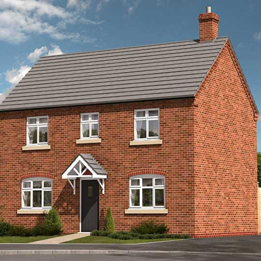 A picture of The Cameo - 3-Bed Detached (Outright Purchase)