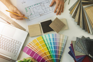 Decorating planning with samples