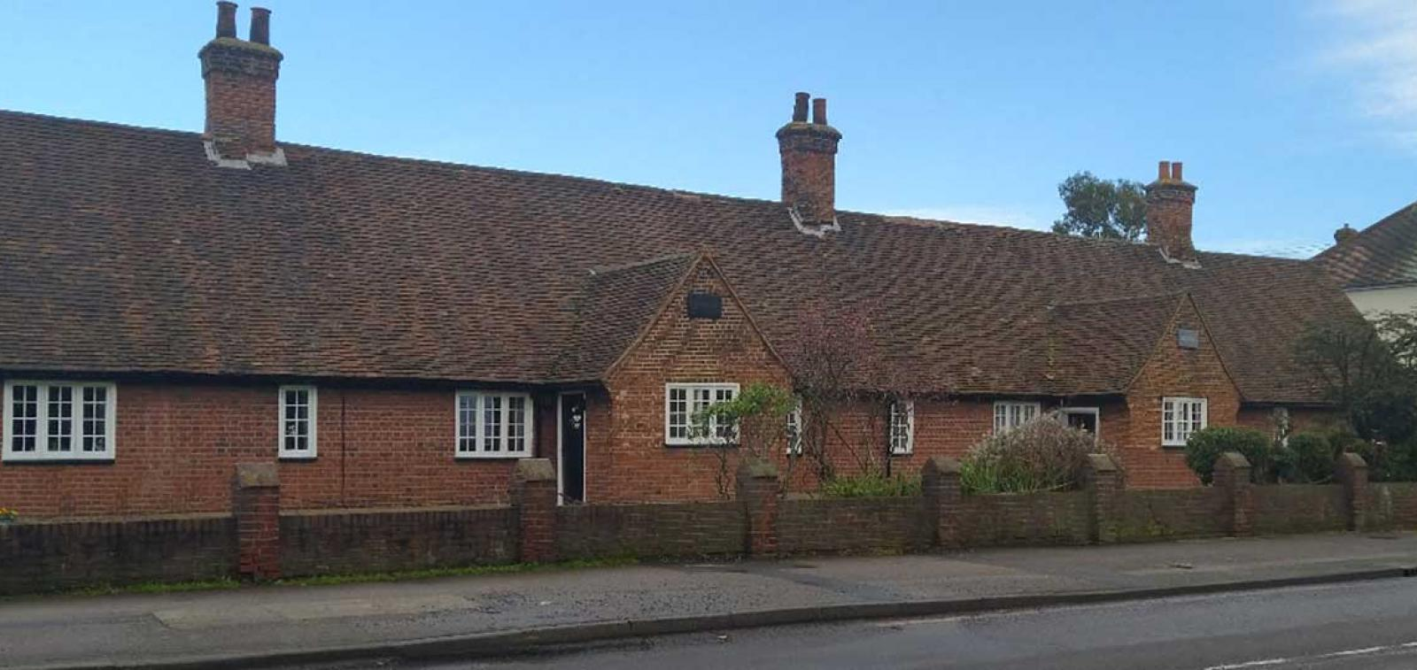 Exterior of Rochford Almshouses