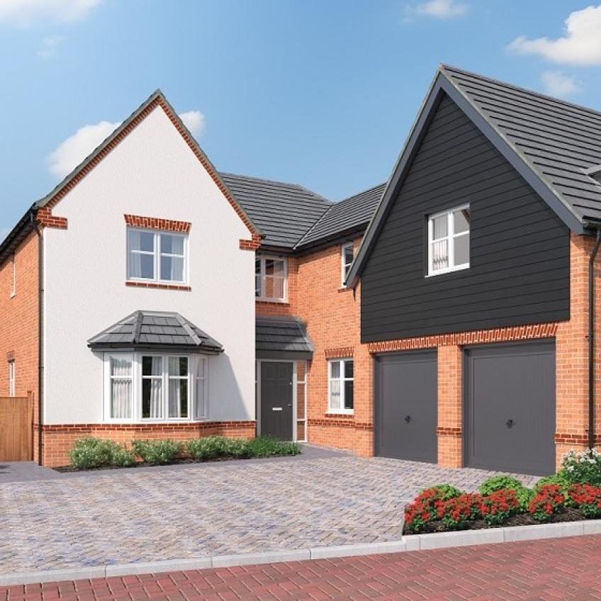 A picture of The Cressing - 5 bedroom home