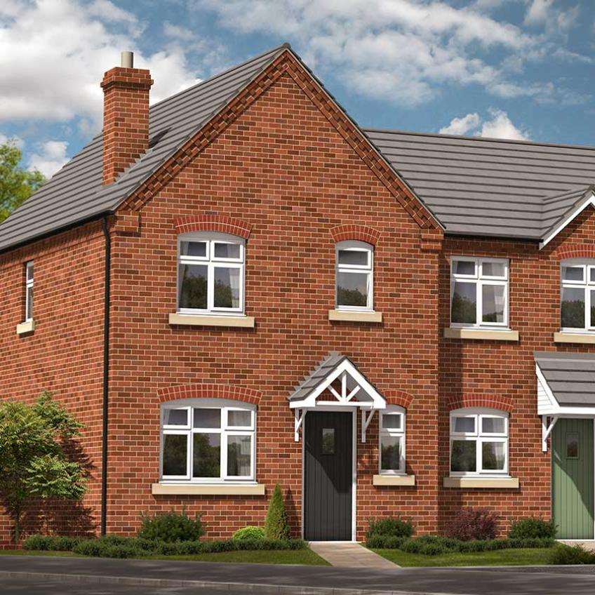 A picture of The Gala - 3-Bed End-Terrace (Shared-Ownership)